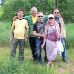 Группа любителей карпов кои из Украины вместе с Йосом Абеном
