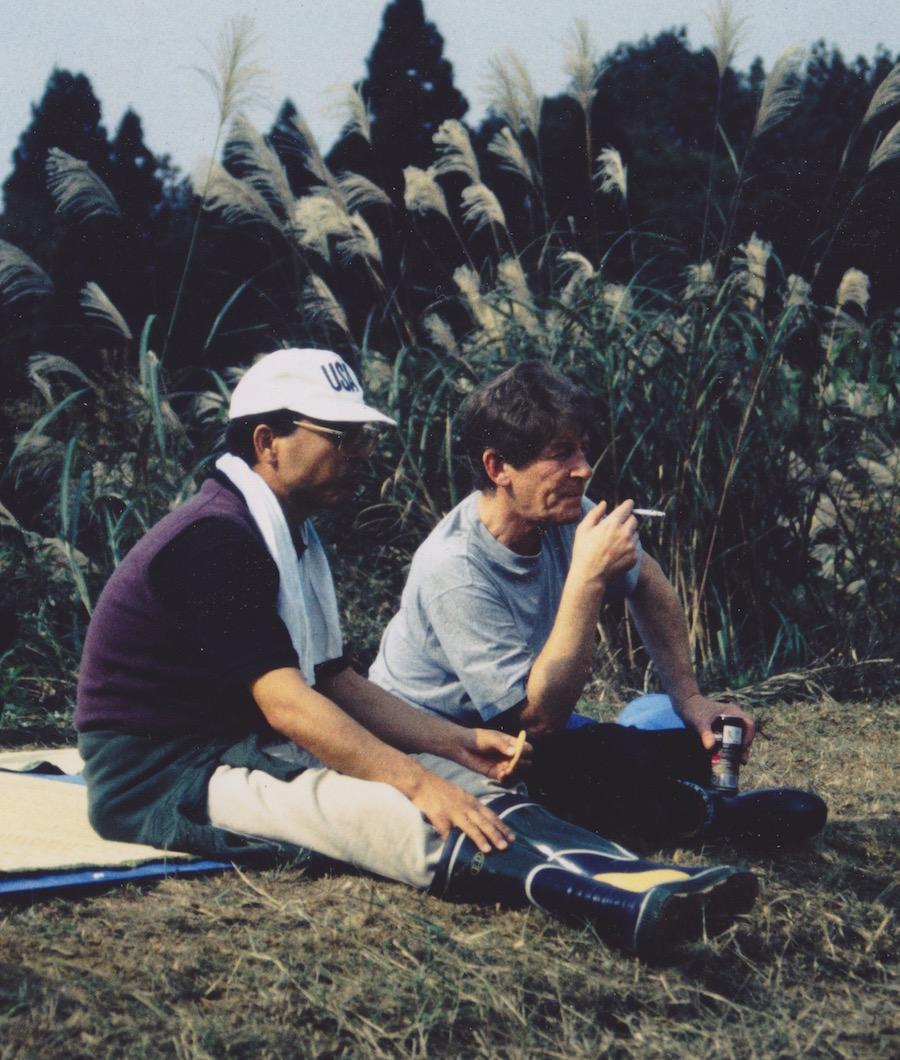Тошио Сакай и Питер Вэддингтон